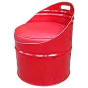 Drum Works Furniture Very Red Chair w/ Cushion