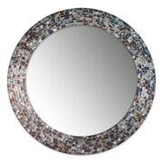 DecorShore Decorative Mosaic Glass Wall Mirror