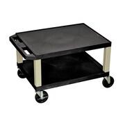 Offex Tuffy Multi-Purpose Utility Cart; Black