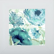 Pictures and Mirrors 'Florals in the Wind II' Framed Print of Painting