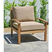 Willow Creek Designs Huntington Club Chair w/ Cushion; Bravada Lime Light