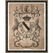 Smith & Co. Traditional Crest II Framed Giclee Print