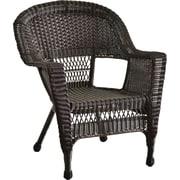 Jeco Inc. Wicker Chair; Espresso