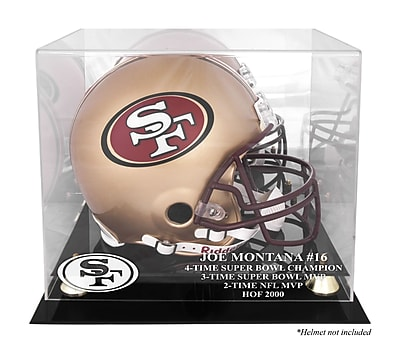 Mounted Memories NFL Hall of Fame Classic Helmet Display Case WYF078279987546