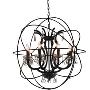 CrystalWorld Bird Cage 8-Light Globe Pendant