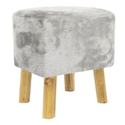 Three Hands Co. Wood Accent Stool