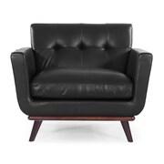 Kardiel Jackie Mid Century Modern Club Chair; Black
