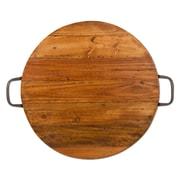 TAG Reclaimed Wood Handled Platter
