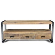 Timbergirl TV Stand; Natural Wood