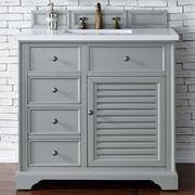James Martin Furniture Savannah 36'' Single Bathroom Vanity Base; Urban Gray