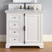 James Martin Furniture Providence 36'' Single Bathroom Vanity Base; Urban Gray