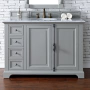 James Martin Furniture Providence 48'' Single Bathroom Vanity Base; Urban Gray
