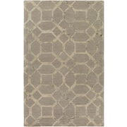 Artistic Weavers Organic Brittany Hand-Tufted Gray Area Rug; 5' x 8'