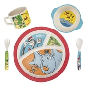 Vandor Dr. Seuss 5 Piece Dinnerware Set