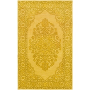 Artistic Weavers Middleton Cameron Hand-Tufted Bright Yellow Area Rug; 5' x 8'
