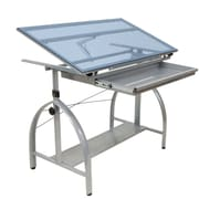 Offex Avanta Glass Drafting Table