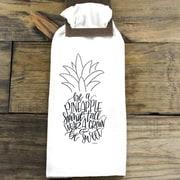 Clairmont&Company Sack Cloth Pineapple Towel
