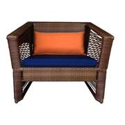 100 Essentials Borneo Chair w/ Cushions