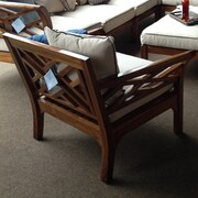 ChicTeak Long Island Teak Chair w/ Cushion