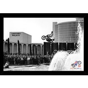 Frame USA 'Evel Knielvel - Caesars Palace Jump' Poster Print Plastic Framed Photographic Print