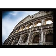 Frame USA 'The Colosseum' Poster Print Hardboard Framed Photographic Print