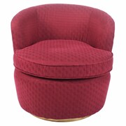 New Pacific Direct Maureen Retro Glam Barrel Chair