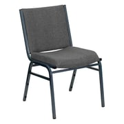 Offex Hercules Series Armless Stacking Chair; Gray