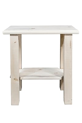 Montana Woodworks Homestead Chairside Table; Ready to Finish WYF078279976167
