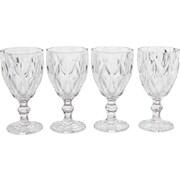 Circle Glass Treasure 14 oz. Goblet (Set of 4)