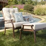 Panama Jack Island Breeze Deep Seating Lounge Chair w/ Cushion; Bay Brown