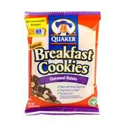 Quaker Breakfast Cookie Oatmeal Raisin 50 Ct