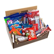 HERSHEY'S The Sweetest Box On Earth Candy Snack Variety Box, Care Package, 27/Count (700-00011)