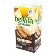 Belvita Breakfast Sandwich Dark Chocolate Creme, 1.76 oz, 25 Pack