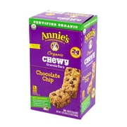 Annie's Organic Chewy Granola Bars Chocolate Chip, .89 oz, 24 Count