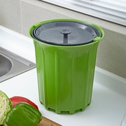 Full Circle Breeze Kitchen/Countertop Composter; Green Slate