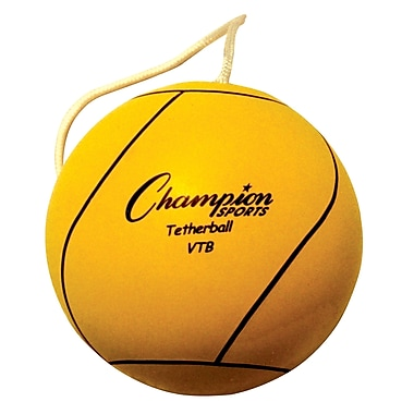 Champion Sports® Tether Ball, Optic Yellow
