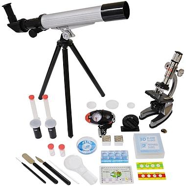 Elenco® Microscope And Telescope Set With Survival Kit