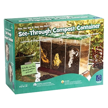 Educational Insights® Now You See It, Now You Don't See-Through Compost Container