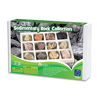 Educational Insights® GeoSafari® Sedimentary Rock Collection