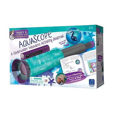 Educational Insights® Nancy B's Science Club AquaScope And Underwater Wonders Activity Journal