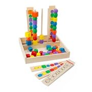 Melissa & Doug® Classic Toy Bead Sequencing Set, Grades All