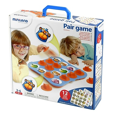 Miniland Educational Pair Game, Grades Toddler - 1