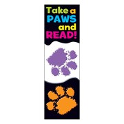Trend Enterprises Take a Paws Bookmark, Grades Kindergarten - 6th