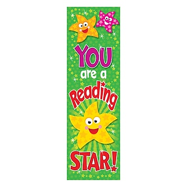 Trend Enterprises® You are a Reading Star Bookmark