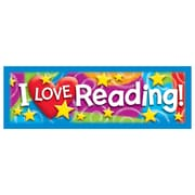 Trend Enterprises® I Love Reading Bookmark, Grades Kindergarten - 6th