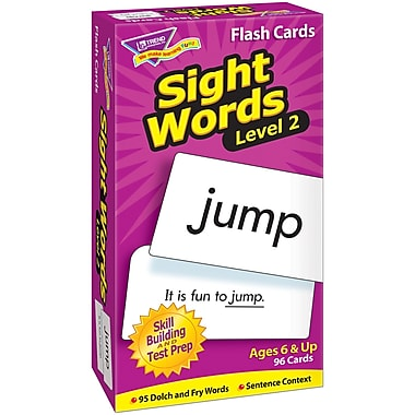 Trend Enterprises® Sight Words Skill Drill Flash Cards, Level 2, Grades 1st - 3rd