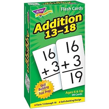 Trend Enterprises® Addition Skill Drill Flash Card, Addition 13 - 18