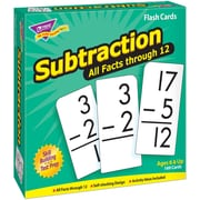 Trend Enterprises® Skill Drill Flash Cards, Subtraction 0 - 12 All Facts