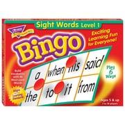 Trend Enterprises® Sight Words Level 1 Bingo Game, Grades Kindergarten - 3rd