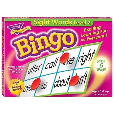 Trend Enterprises® Sight Words Level 2 Bingo Game, Grades Kindergarten-4th